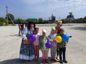 День защиты детей. Открытие лагеря дневного пребывания